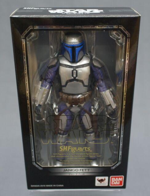 Star Wars Jango Fett Action Figure: Bandai SH Figuarts Star Wars Jango Fett About 150mm Action