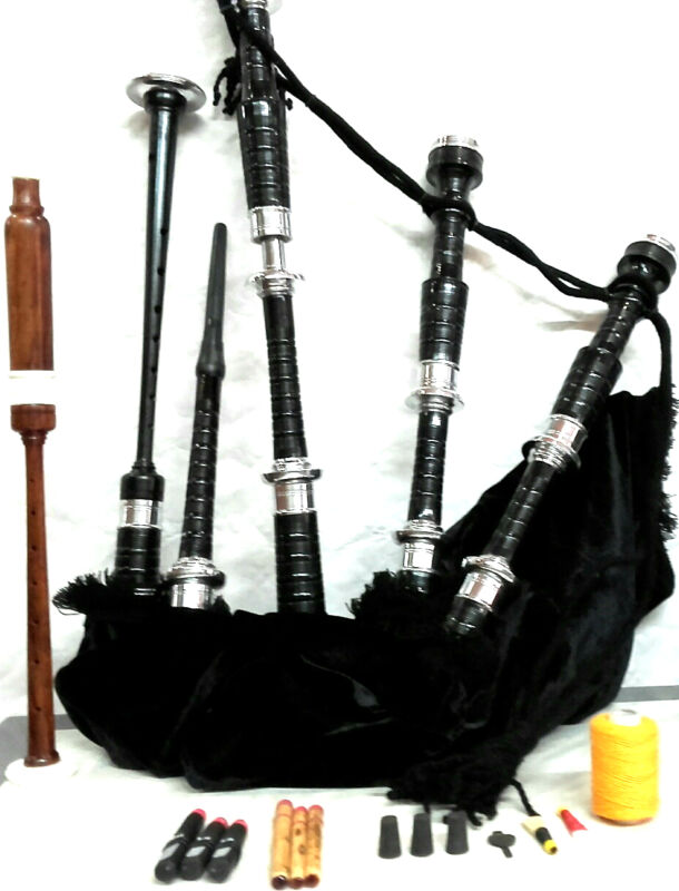 Bagpipes Beginner Set with Tutor book Learn to play, bagpipe Ready to play