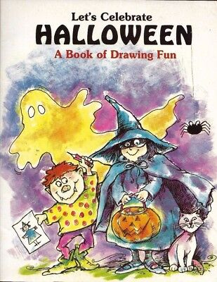 Drawing A Halloween (USED (GD) Let's Celebrate Halloween: A Book of Drawing Fun by Roseanna)