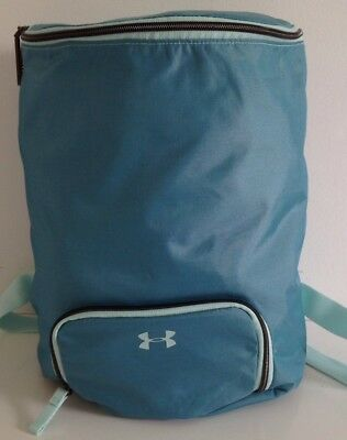 New Women's Under Armour Midi Backpack UA Mint Green 1306397 703