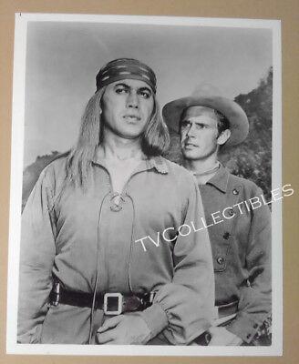 8x10 Photo~ TV's BROKEN ARROW ~Michael Ansara ~John Lupton ~Indian Western