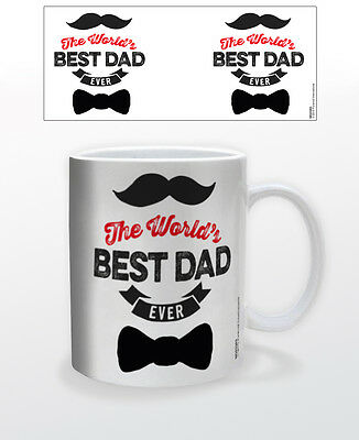 FATHERS DAY- WORLDS BEST DAD 11 OZ COFFEE MUG TEA CUP LOVE FATHER ROLEMODEL!!!! - Worlds Best Dad Mug