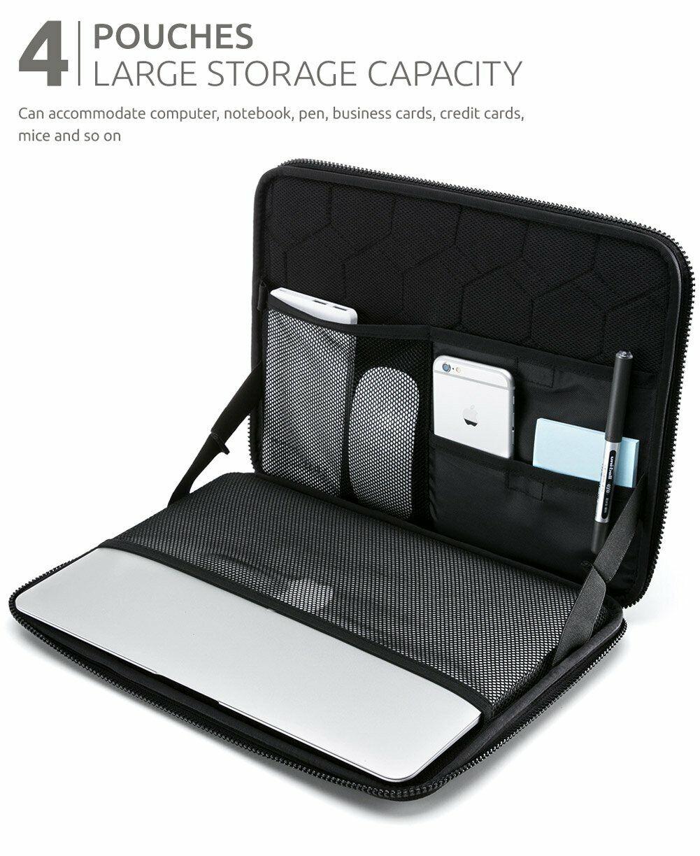 NACUWA Chromebook Laptop Case Padded Zip Cover 13 Inch Compu