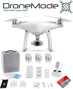 DJI Phantom 4 with 3 batteries & Charge Hub or Car Charger Docklands Melbourne City Preview