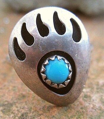 bärentatzen navajo kinder? ring sterling achat bear claw (18mm) krafttier 15,5mm