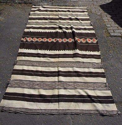 Marrokanischer Kelim, Decke, Mauretanien, Kamelhaar,