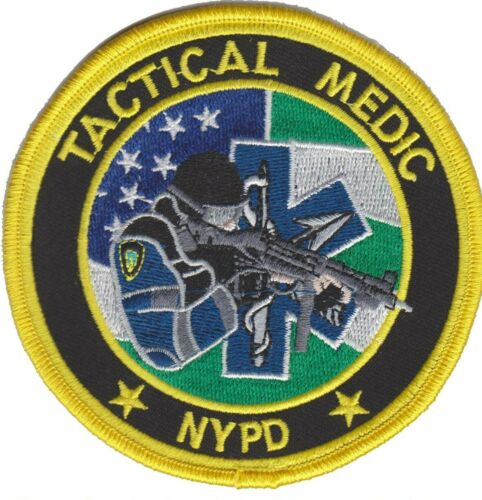 NYPD , NEW YORK Police patch  (TACTICAL MEDIC UNIT)