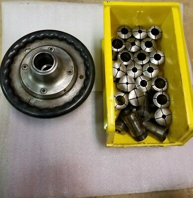 Hardinge Sjogren 2j Speed Collet Chuck L1 Mount W 23 Collets