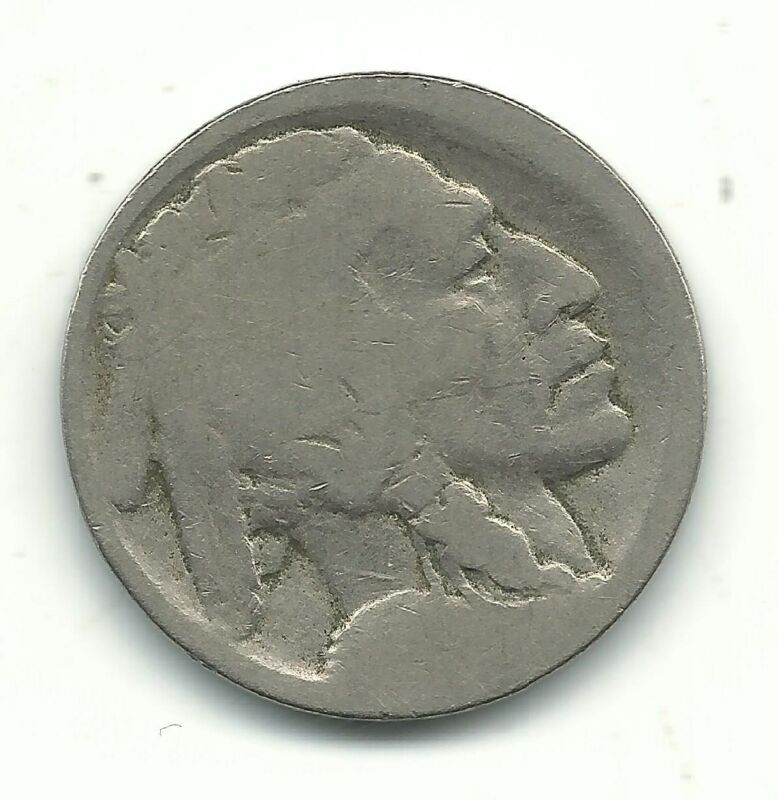 A VINTAGE BETTER DATE 1913 S TYPE 1 BUFFALO NICKEL COIN-OLD US COIN-SEP907