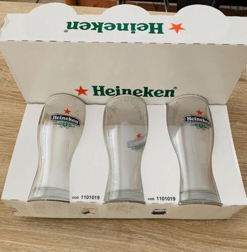 Boccali Bicchieri Birra Heineken Set Da 6