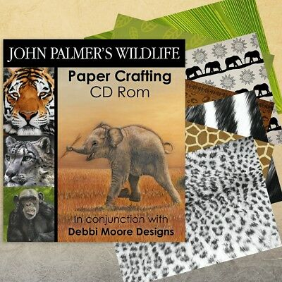 John Palmer's Wildlife Papercrafting CD Rom