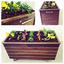 Rustic Planter box - mobile & reclaimed hardwood Manly Vale Manly Area Preview