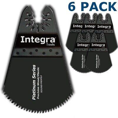 6pc Oscillating Multi Tool Circular Blade Set - Rigid Job Max Compatible