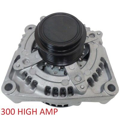 Sierra 1500 V8 5.3L 5328cc 325cid 2014-2016 300 HIGH AMP HIGH OUTPUT ALTERNATOR