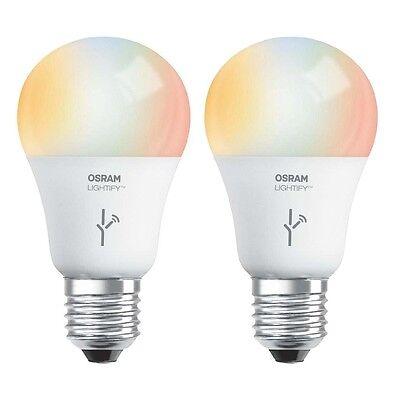 Sylvania Osram Lightify 60W A19 Daylight/ RGB Smart LED Ligh