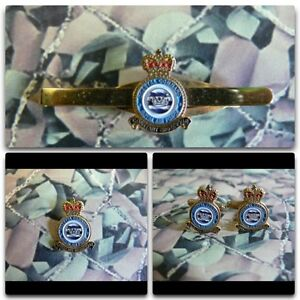 Royal-Air-Force-COASTAL-COMMAND-Lapel-Cuff-Links-Tie-Bar-Gift-Set-RAF