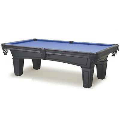 New Shadow 8' Pool Table with Black Finish