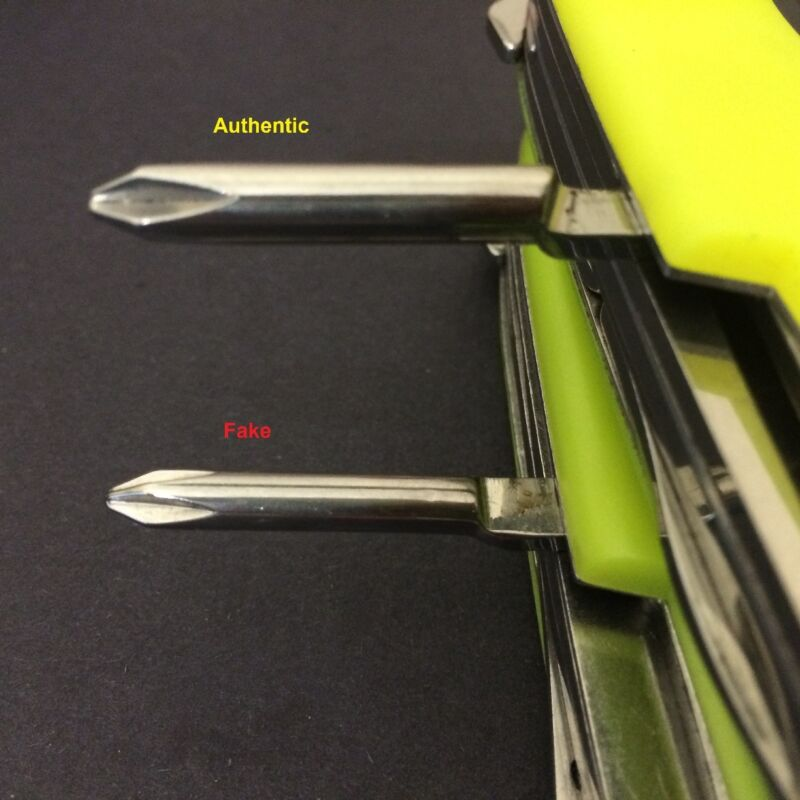 Archerwin S Swiss Army Knives How To How To Spot A Fake