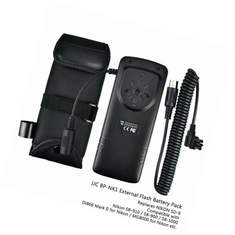 eFonto/JJC externer Blitz-Batteriepack fr Nikon SB 910 900 5000 ...