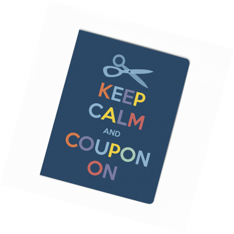 large coupon organizer portfolio keep calm