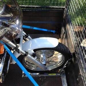 MOTORBIKE TRAILERS FOR HIRE - ALL HARLEY'S, CHOPPERS & ROADBIKES Roselands Canterbury Area Preview