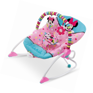 Disney Baby Minnie Mouse Peekaboo Infant To Toddler Rocker