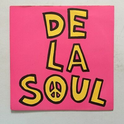 "De La Soul - Me Myself and I - 1989 England - Big Life - BLR 7 - 7"" Single"