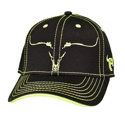 Cowboy Hardware Black & Neon Yellow Snapback Ball Cap 101121-010-Q - Neon Cowboy Hat
