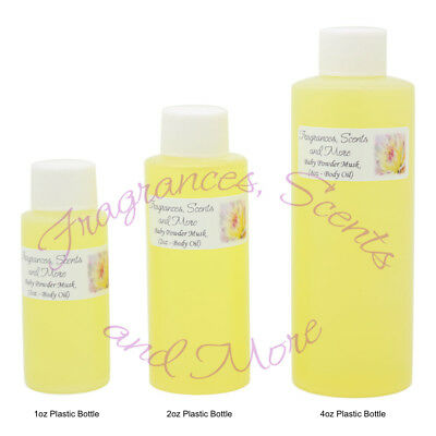 Baby Powder Musk Perfume/Body Oil (7 Sizes) - Free Shipping