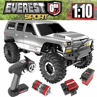 Redcat Racing 1/10 Everest Gen7 Sport Brushed Rock Crawler RTR Silver Truck r/c