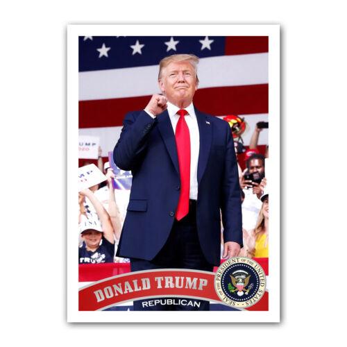 Donald Trump Novelty 2011 Style Presidential Baseball Card Republican 2020 MAGA