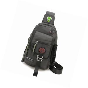 Nicgid Sling Bag Chest Shoulder Backpack Crossbody Bags for iPad ... dcc5425d78bea