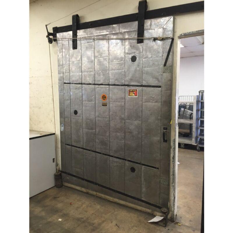 Vintage Industrial Fire Barn Doors