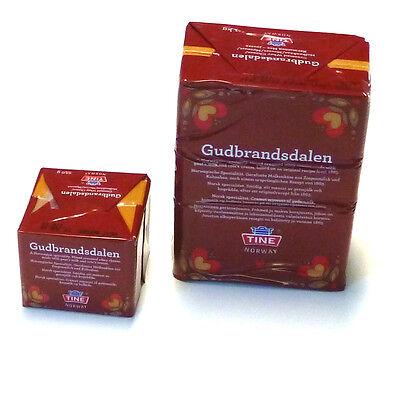 Gjetost Norgold Gudbrandsdalen Karamellkäse Norwegenkäse Molkenkäse 1kg und 250g