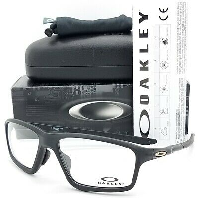 NEW Oakley Crosslink Zero RX glasses Frame Black OX8080-0758 Asian FT link 8080 (Oakley Glasses Crosslink)