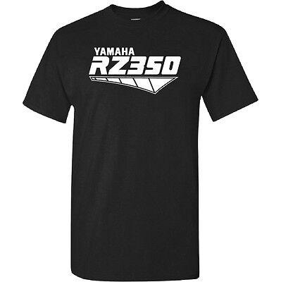 Yamaha Rz350 Rz 350 Old School Retro Two Stroke Cafe Logo Decal T Shirt