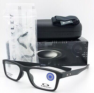 NEW Oakley Fin Box Prescription Frame Matte Black OX8108-0151 AUTHENTIC 8108