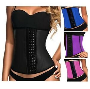 9pcs Steel Boned Latex Waist Trainer Corset Waist Green Valley Liverpool Area Preview
