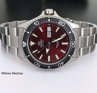 Orient Kamasu Mens Automatic 200M Sapphire Crystal Watch RA-AA0003R19B Brand New