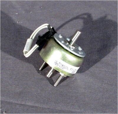 Ledex 810-282-330 Cw Rotary Solenoid 45 Cw Double Shaft 3 Tapped Holes