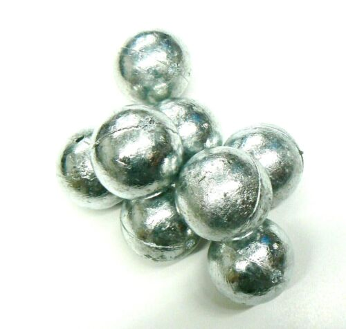 10 POUNDS  ZINC ANODES 99.9% PURE ANODE FOR METALS & ALLOYS 10 ROUND BALLS