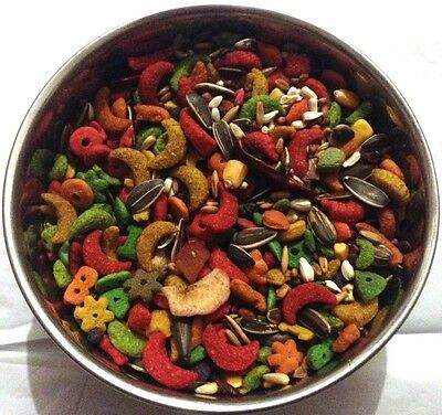 Special Bird (BBA Special bird food mix parrot diet medium large parrot fruitblend)