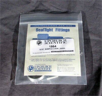 New 250ul Stainless Hplc Sample Loops Fittings Upchurch Scientific 1864