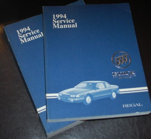 1994 Buick Regal Service Manual Repair Set of 2 Mint Condition Free shipping
