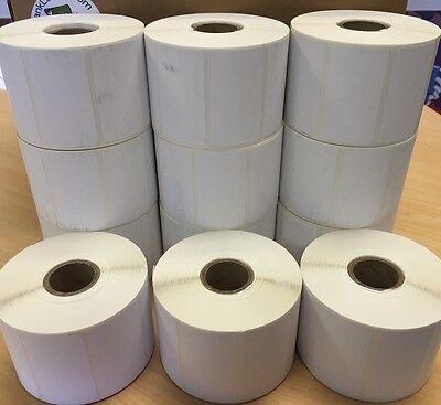 Labels 2.25 X 1.25 2-14 X 1-14 Thermal Eltron Zebra 12 Roll 12000 Labels