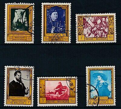 [787] Belgium 1958 good Set very fine Used Stamps