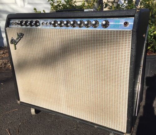 Best-sounding Fender Twin Reverb Guitar Amp 1976 Silverface Power Supply renewed