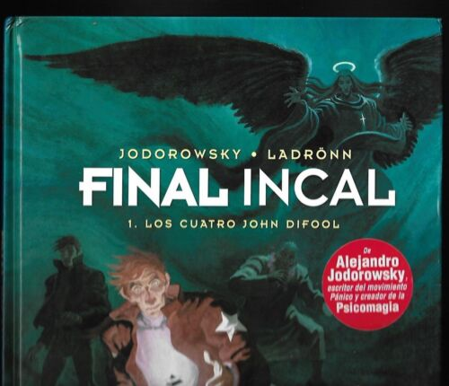 Final Incal 1 Los Cuatro John Difool by Jodorowsky/Ladronn/Moebius in Spanish FN
