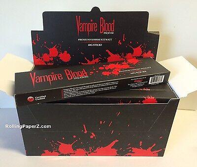 Ships from Kentucky - VAMPIRE BLOOD INCENSE STICKS - 1 box  40 gram - by - Vampire Blood