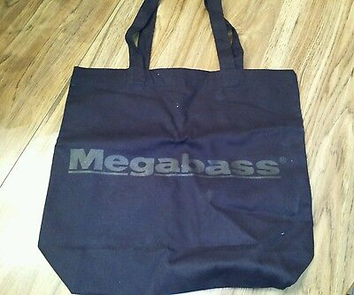 Megabass tote bag